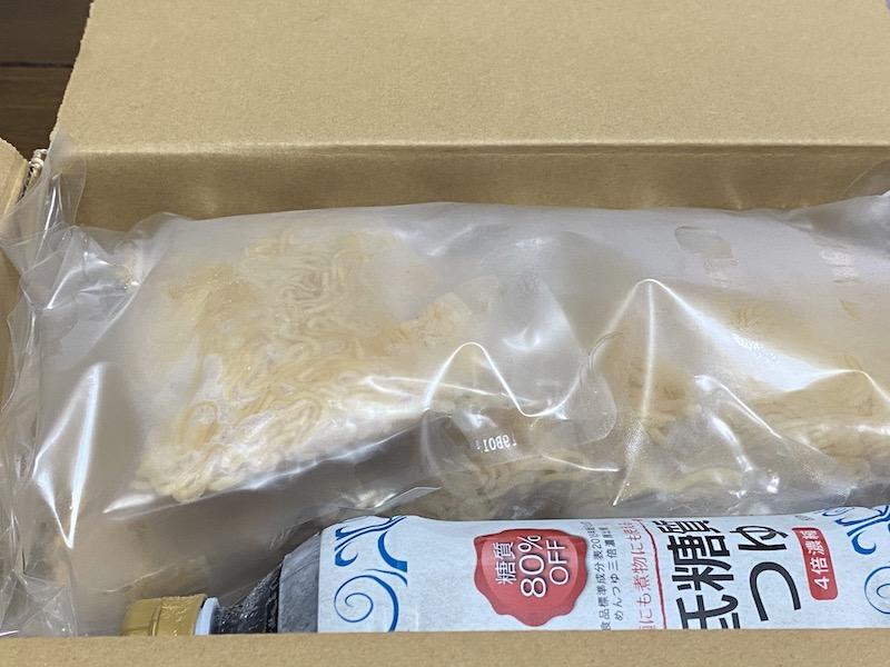 ソイドルの麺とつゆ