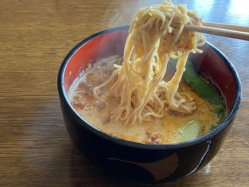 ソイドル坦々麺レシピ完成