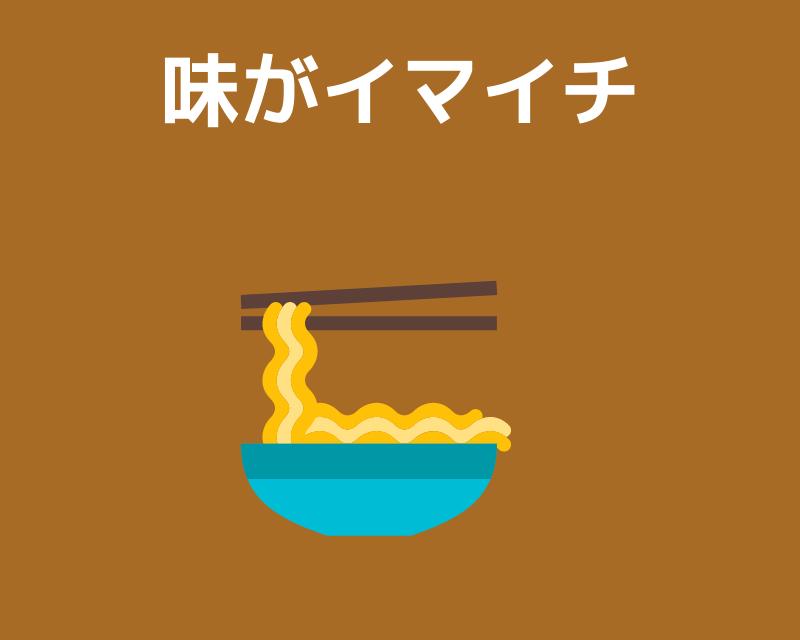 スーパーの糖質0g麺は味がイマイチ